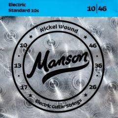 Manson Electric Guitar Strings Gauge 10-46 Multi-Pack