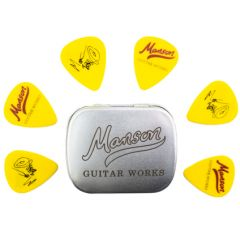 Manson Guitar Works Tortex Plectrum Tin Matthew Bellamy Signature