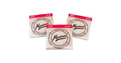 Manson Acoustic Guitar Strings Gauge 11-52 Multi-Pack