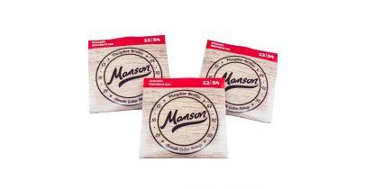 Manson Acoustic Guitar Strings Gauge 12-54 Multi-Pack