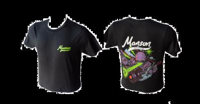 Manson Guitars T-Shirt, Black
