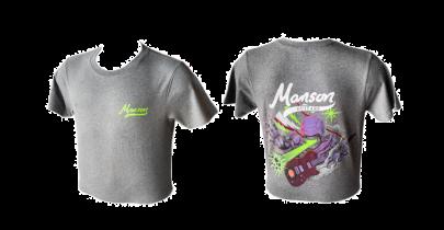 Manson Guitars T-Shirt, Grey