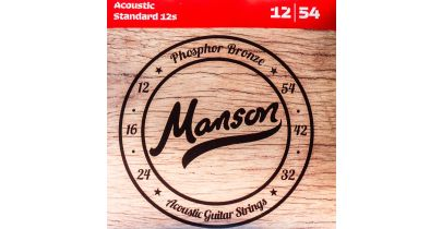 Manson Acoustic Guitar Strings Gauge 12-54