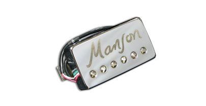 Manson MBK-2 Bridge Pickup Chrome