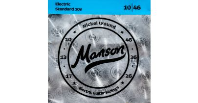Manson Electric Guitar Strings Gauge 10-46 Multi-Pack
