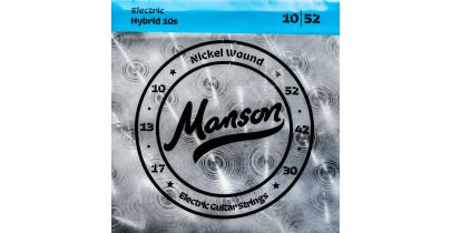 Manson Electric Guitar Strings Gauge 10-52