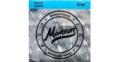 Manson Electric Guitar Strings Gauge 9-42 Multi-Pack