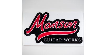Manson Guitar Works Logo Vinyl Sticker