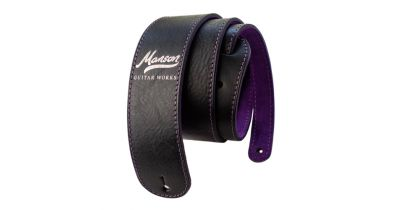 Manson Premium Leather Guitar Strap Holosparkle